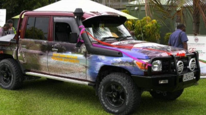 New Vehicle for East New Britain Tourism Authority