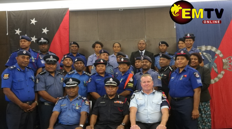 RPNGC Awards Officers for Services in RAMSI Exercise